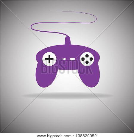 Joystick Purple