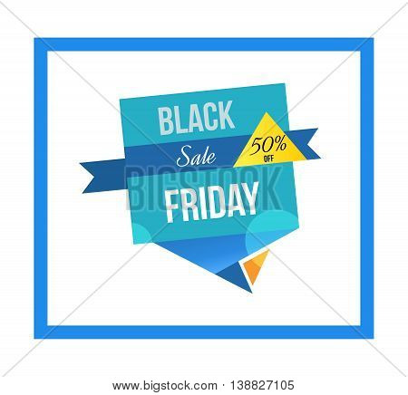 Super Sale banner on colorful background. Mega discount. Special offer. Geometric design. Black friday sale design template. Vector illustration.