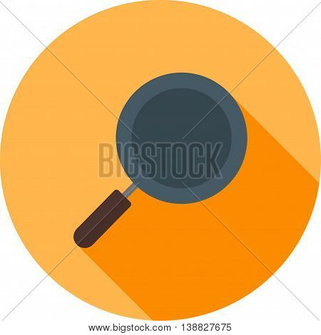 Kitchen, pan, cooking icon vector image. Can also be used for kitchen. Suitable for use on web apps, mobile apps and print media.