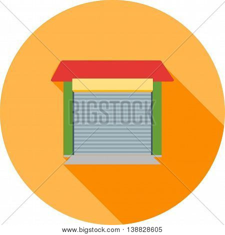 Auto, repair, shop icon vector image. Can also be used for car servicing. Suitable for use on web apps, mobile apps and print media.
