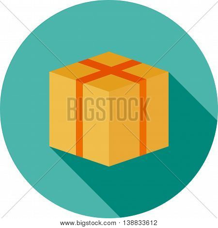 Package, box, product icon vector image.Can also be used for digital web. Suitable for web apps, mobile apps and print media.
