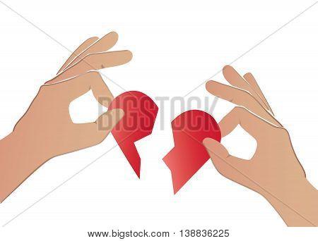 Hand Heartbrak