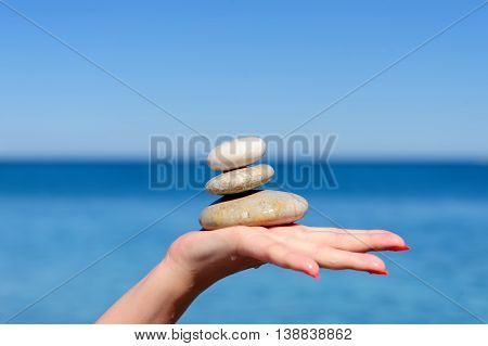 Stones In A Hand