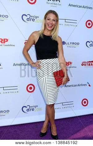 LOS ANGELES - JUL 16:  Amanda Clayton at the HollyRod Presents 18th Annual DesignCare at the Sugar Ray Leonard's Estate on July 16, 2016 in Pacific Palisades, CA