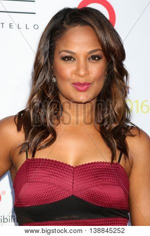 LOS ANGELES - JUL 16:  Laila Ali at the HollyRod Presents 18th Annual DesignCare at the Sugar Ray Leonard's Estate on July 16, 2016 in Pacific Palisades, CA