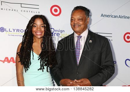 LOS ANGELES - JUL 16:  Daughter, Jessie Jackson at the HollyRod Presents 18th Annual DesignCare at the Sugar Ray Leonard's Estate on July 16, 2016 in Pacific Palisades, CA