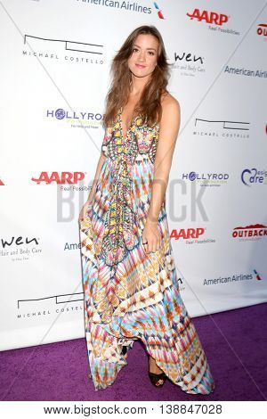LOS ANGELES - JUL 16:  Tennille Amor at the HollyRod Presents 18th Annual DesignCare at the Sugar Ray Leonard's Estate on July 16, 2016 in Pacific Palisades, CA