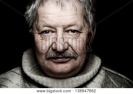Very Old Man Portrait
