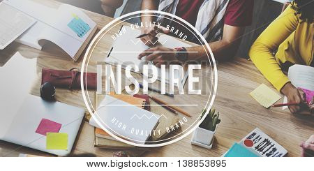 Inspire Creative Aspiration Expectations Hopeful Concept