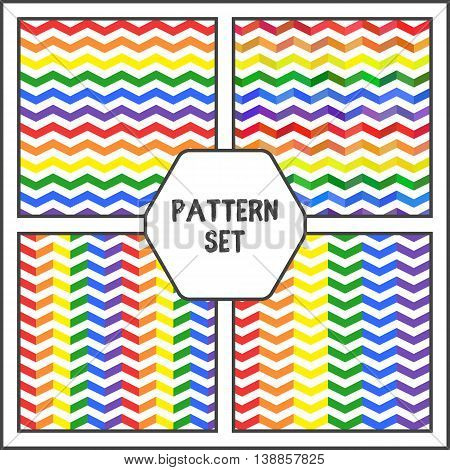 Lgbt Lines Pattern