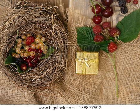 Fresh Colourful Berries