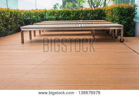 Seating for a relaxing in the garden