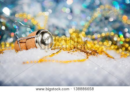New Year's Eve/champagne Cork New Year's 2020