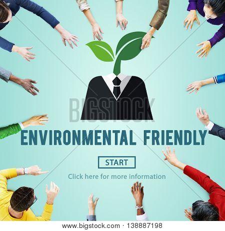 Environmental Friendly Go Green Natural Resources Concept