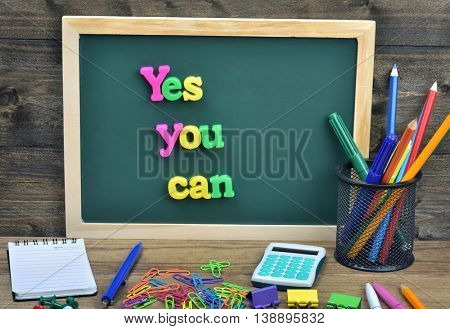 Yes you can word on school board