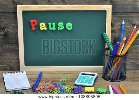 Pause word on school board