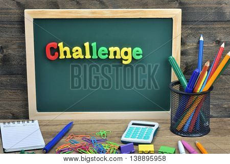 Challenge word on school board