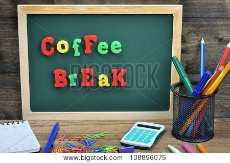 Coffee Break word on school board