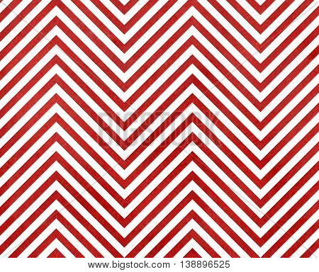 Watercolor Red Stripes Background, Chevron.