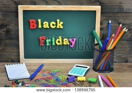 Black Friday word on school board