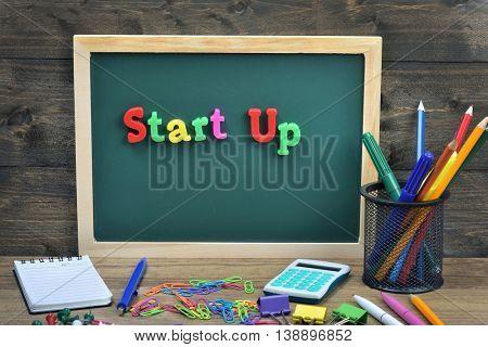 Startup word on school board