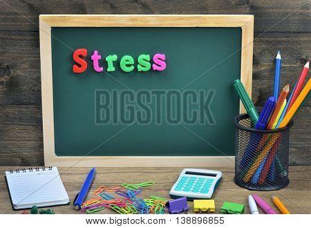 Stress word on school board