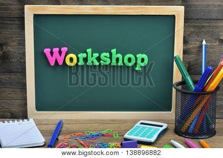 Workshop word on school board
