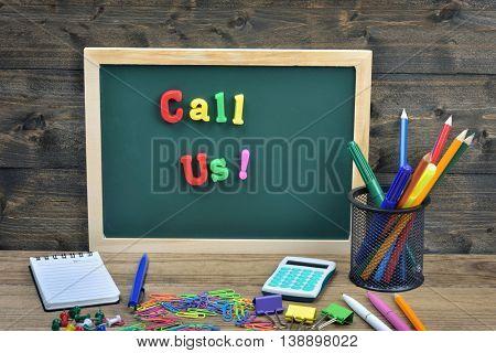 Call Us word on school board