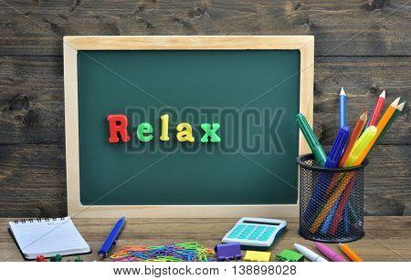 Relax word on school board