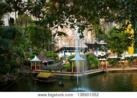 Batu Caves. Kuala Lumpur, Malaysia.