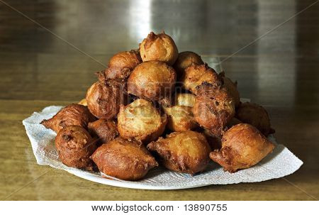 Frittelle: Italian Typical Fried Carnival Dish