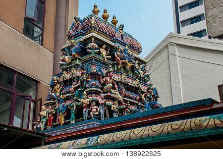 The Indian Temple.kuala Lumpur, Malaysia.