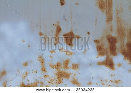 painted blue rusted metal grunge texture map
