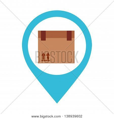 box carton packing icon vector isolated graphic
