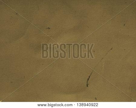 Orange Paper Texture Background Sepia