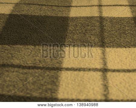 Blue Tartan Background Sepia