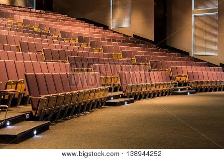 Seats Are Waiting For Curious Listeners