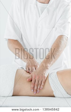 Soothing Massage After Stressful Day