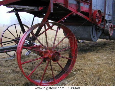 Steel Wheels Threshing Machine