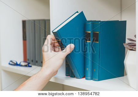 Preparation for the exam in the library