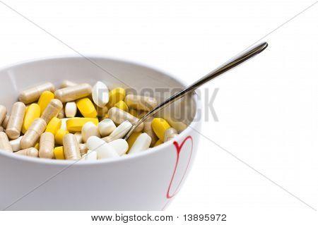 Pills bowl