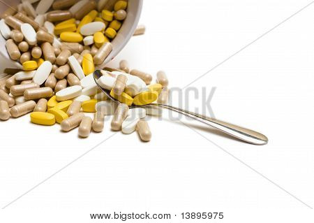 Pills spoon