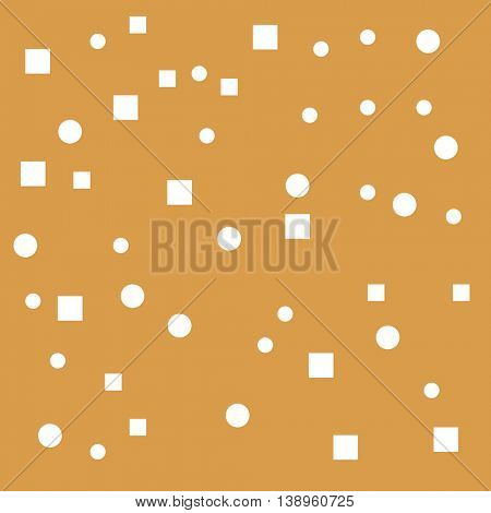 Brown Background With geometric elements