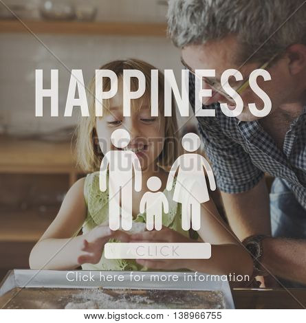Love Home Care Happiness Parenting Concept
