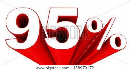 Discount 95 Percent Off Sale.