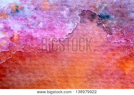 Rainbow Watercolour Background 10