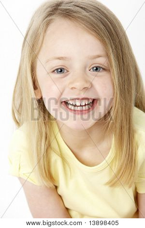 Portrait Of Smiling Young Girl