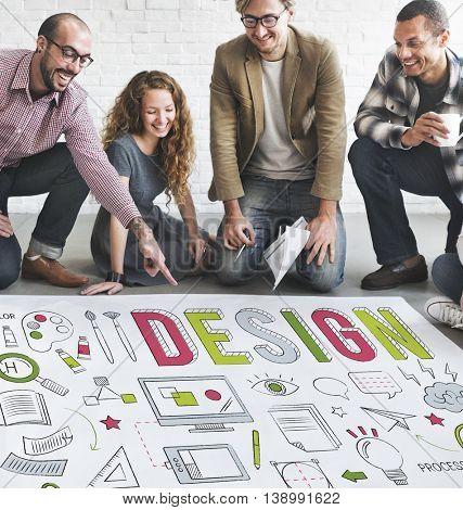 Design Creative Planning Objective Purpose Ideas Concept