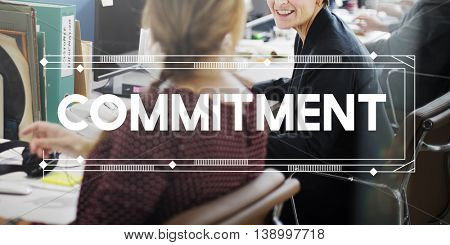 Commitment Deal Liability Trust Duty Concept