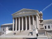 stock photo of supreme court  - the supreme court building - JPG